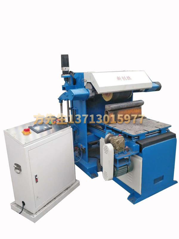 Profiling automatic curved surface polishing machine