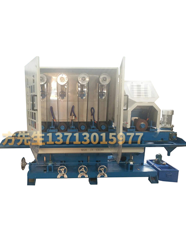 150 wide four sand one round water mill wire drawing machine